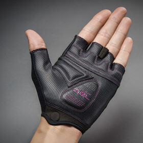 GripGrab ProGel Gepolsterte Kurzfinger Handschuhe Damen purple